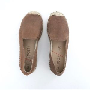 Sole Society Slip On Espadrilles